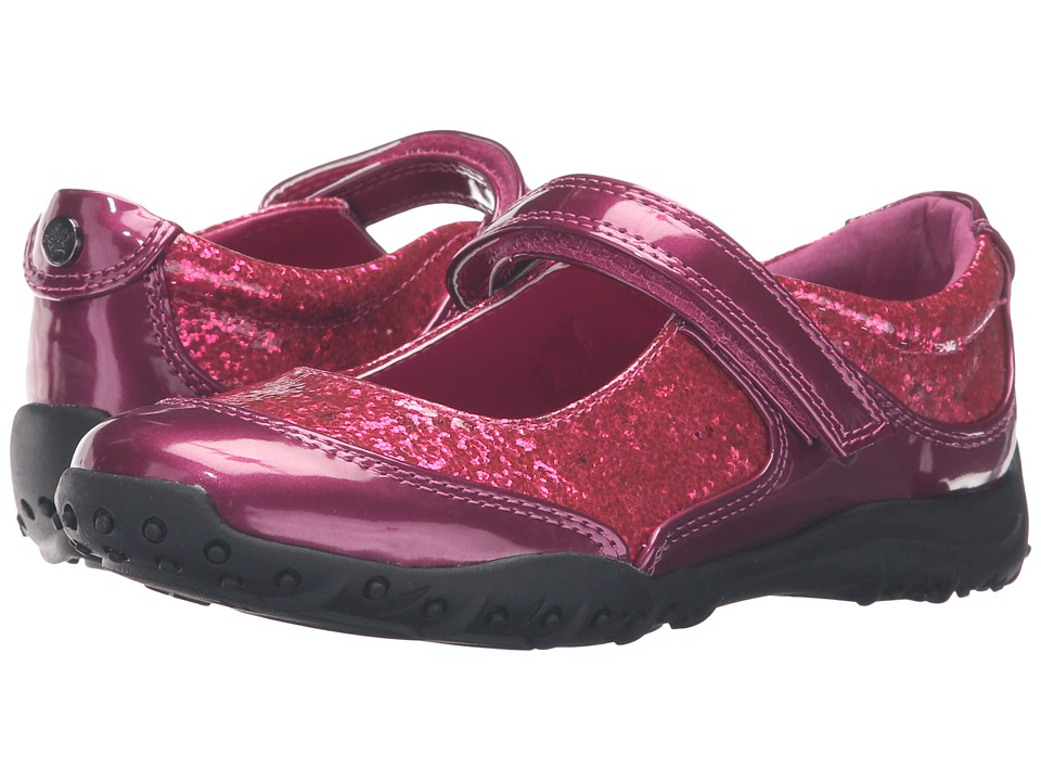 Nina Kids - Nikola (Toddler/Little Kid/Big Kid) (Berry Glitter) Girls Shoes