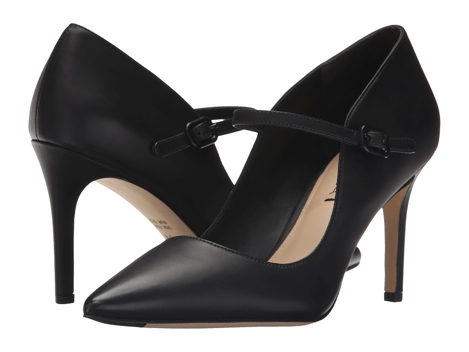 Via Spiga - Camilla (Black Baby Dull Leather) High Heels