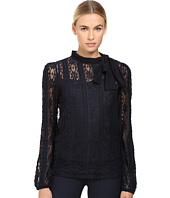 RED VALENTINO - Jersey Lace Blouse