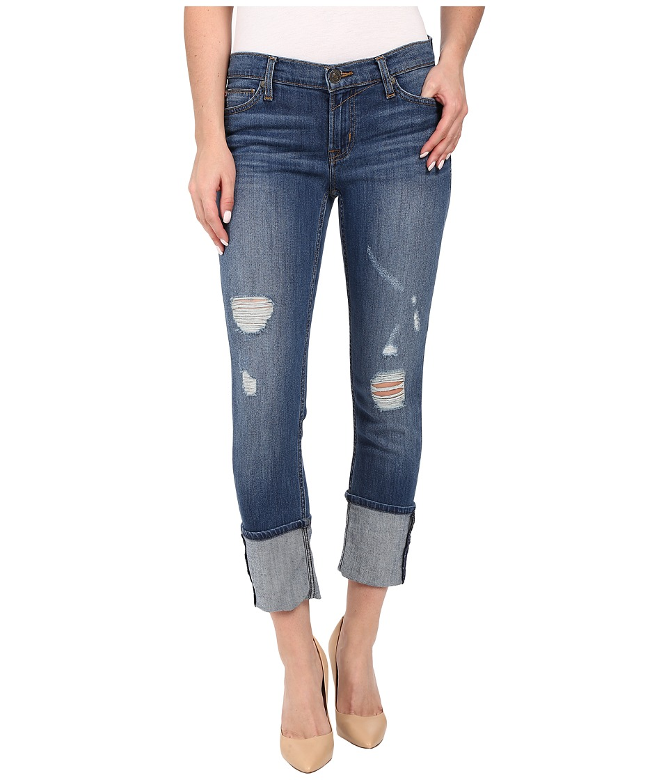 Hudson Muse Crop Skinny w/ 5 Cuff in Hustle Hustle Womens Jeans