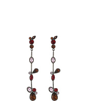 Oscar de la Renta - Floating Crystal Single Drop P Earrings