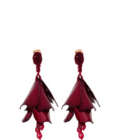 Oscar de la Renta - Impatiens Flower Drop C Earrings