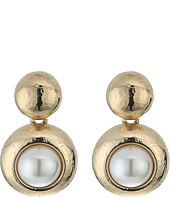 Oscar de la Renta - Pearl C Earrings