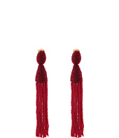Oscar de la Renta - Long Beaded C Tassel Earrings