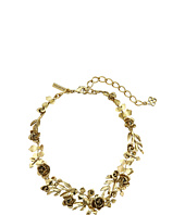 Oscar de la Renta - Rose and Leaf Vine Necklace
