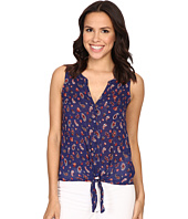 Lucky Brand - Tie Front Woven Top