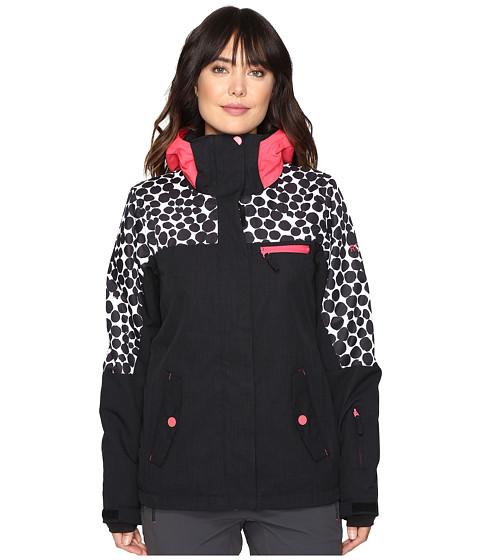 Roxy Jetty Block Jacket - Irregular Dots