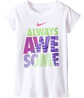 Nike Kids - A895 Awesome Short Sleeve Tee (Toddler)
