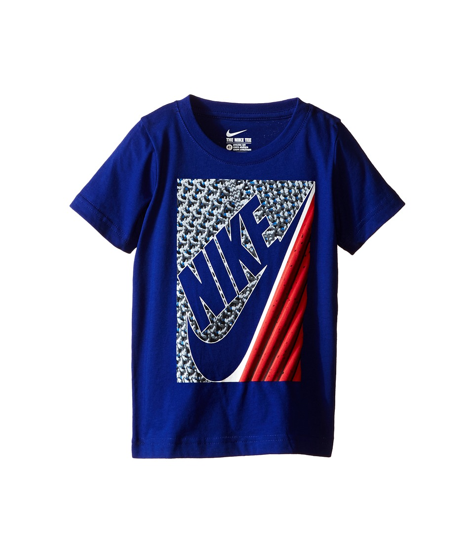 Nike Kids Lunarlon Short Sleeve Tee Toddler Deep Royal Blue Boys T Shirt