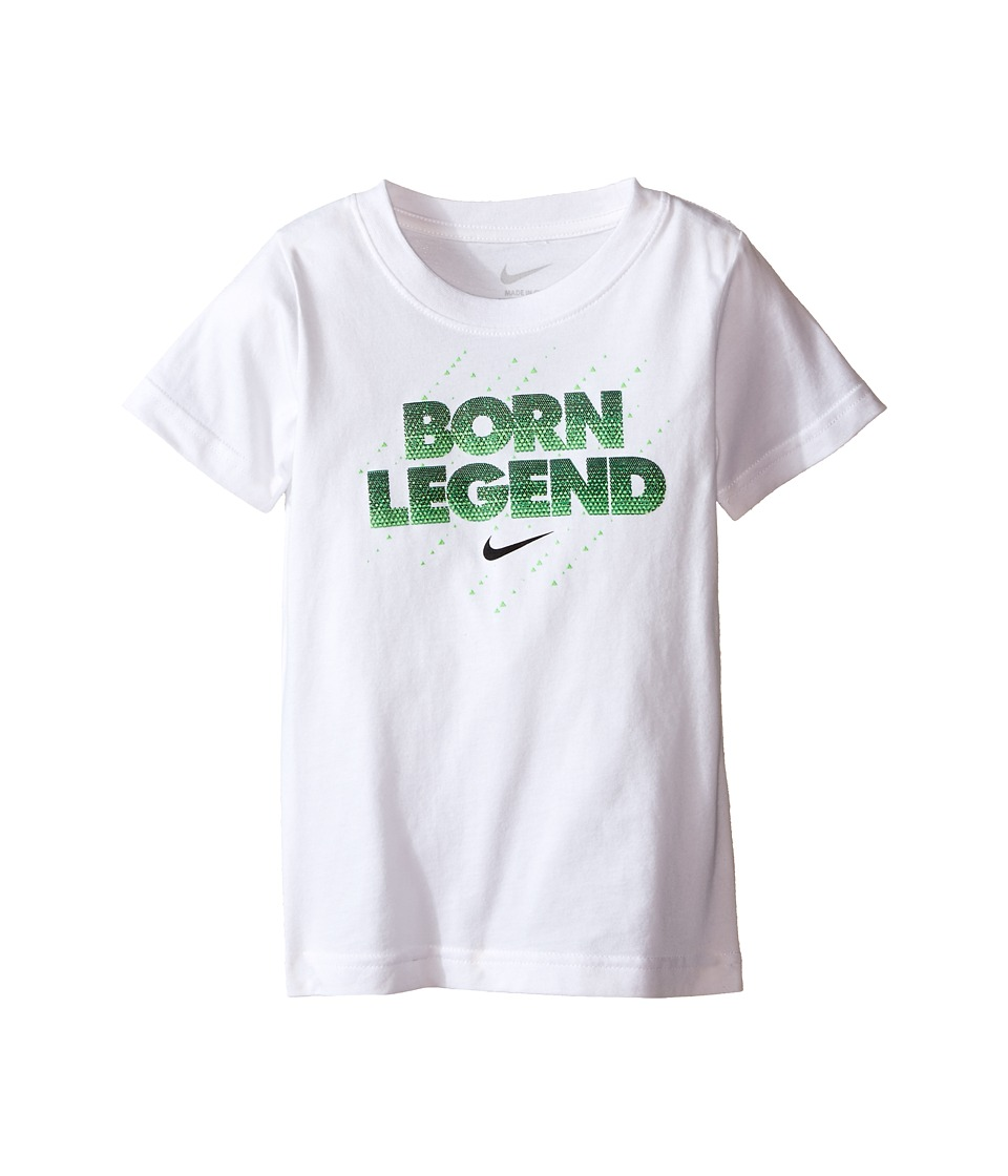 Nike Kids Born Legend Short Sleeve Tee Toddler White Boys T Shirt