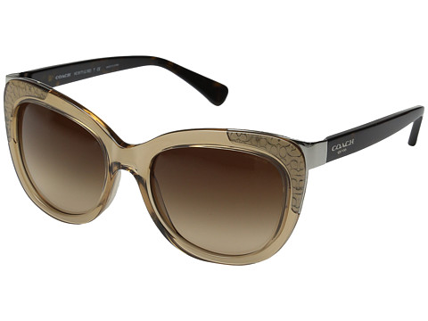 COACH 0HC8171 - Crystal Light Brown/Dark Tortoise