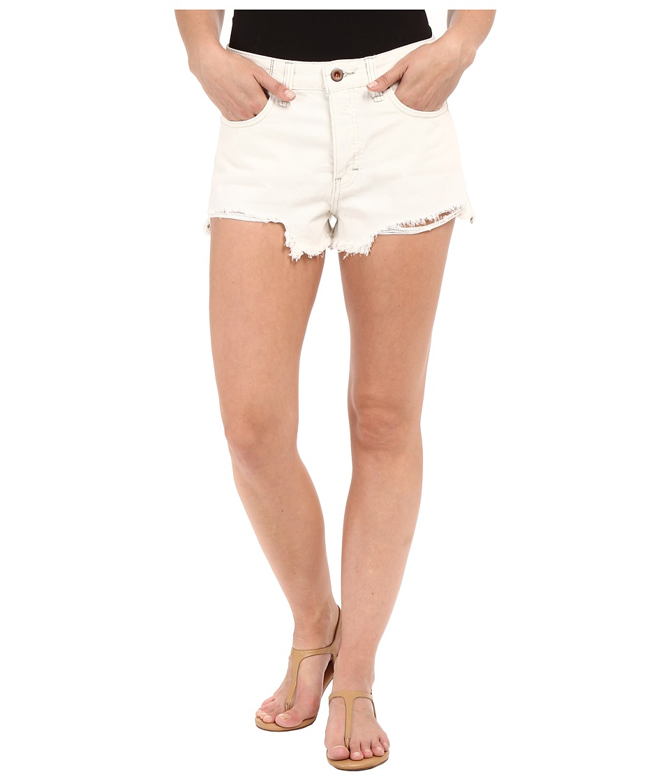 Free People Logan Shorts Optic White Womens Shorts