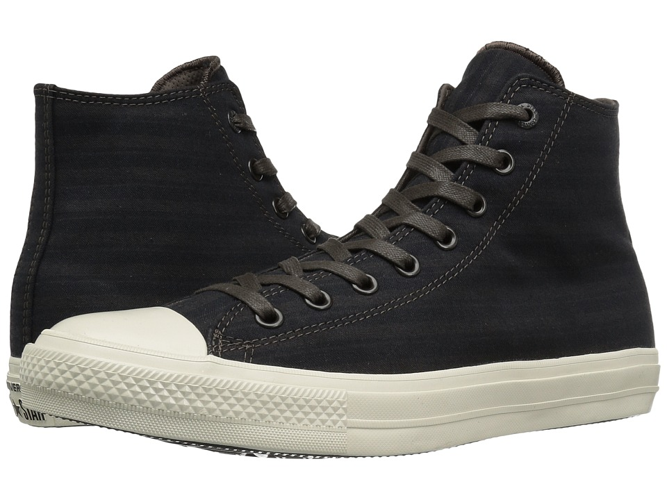 Converse by John Varvatos Chuck Taylor All Star II Hi Textile (Dark Chocolate) Shoes