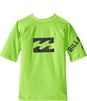 Billabong Kids - Team Wave Short Sleeve Rashguard (Toddler/Little Kids/Big Kids)