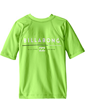 Billabong Kids - All Day Short Sleeve Rashguard (Toddler/Little Kids/Big Kids)