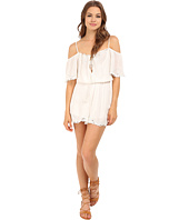 Free People - White Romance Romper