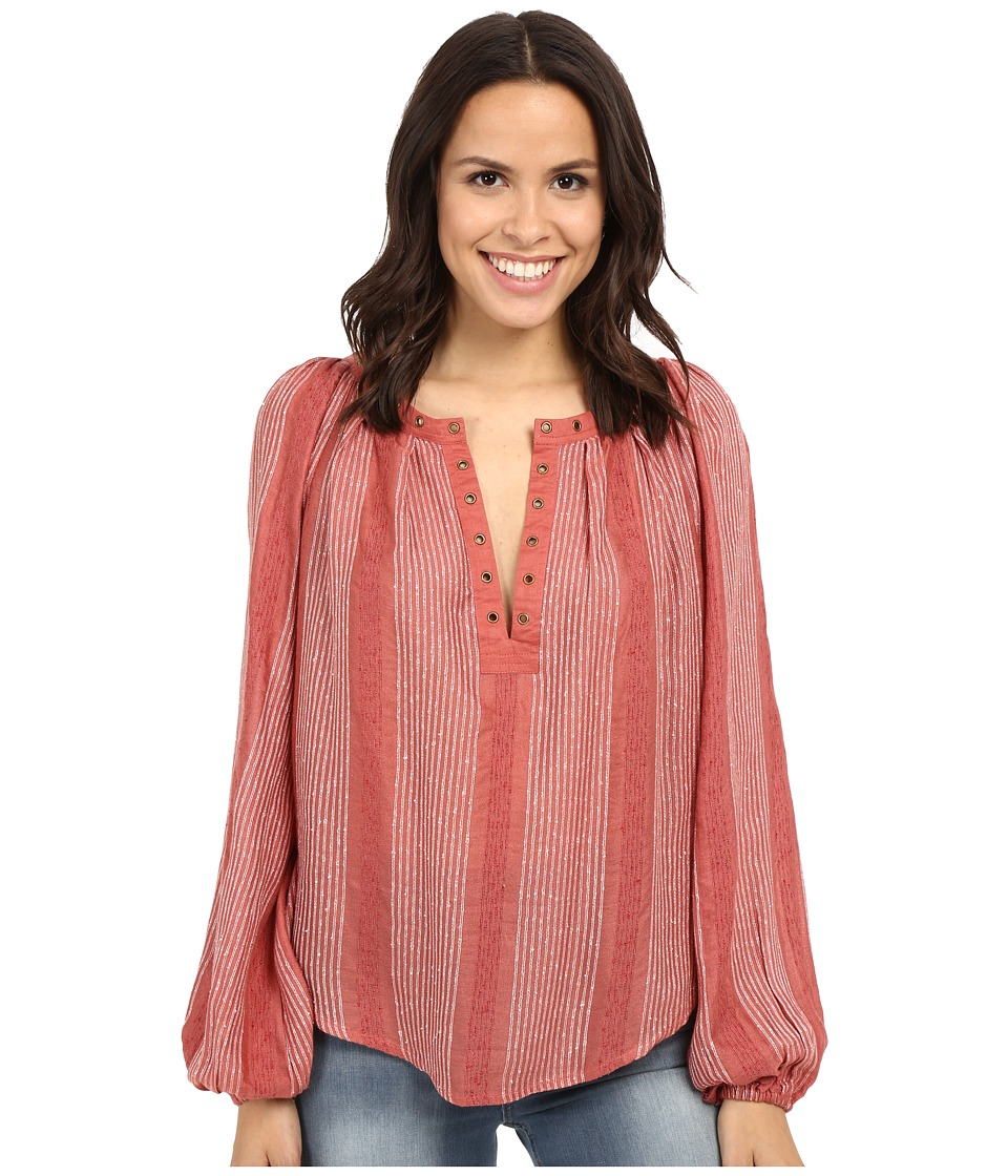 Free People Against All Odds Top Desert Sun Combo Womens Clothing