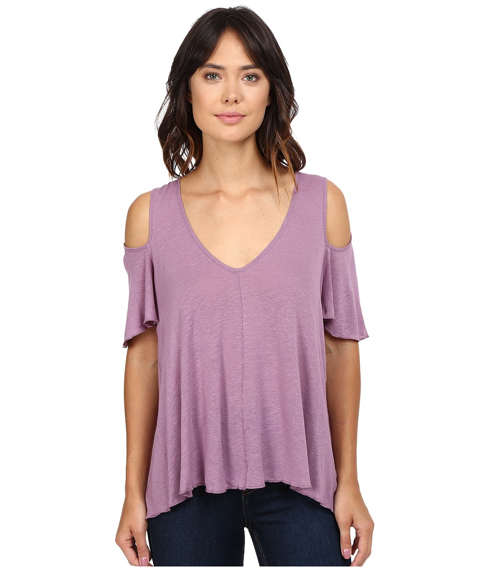 Free People - Bittersweet Tee (Purple) Women