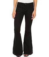 Free People - Stella High Rise Flare Jeans in Black