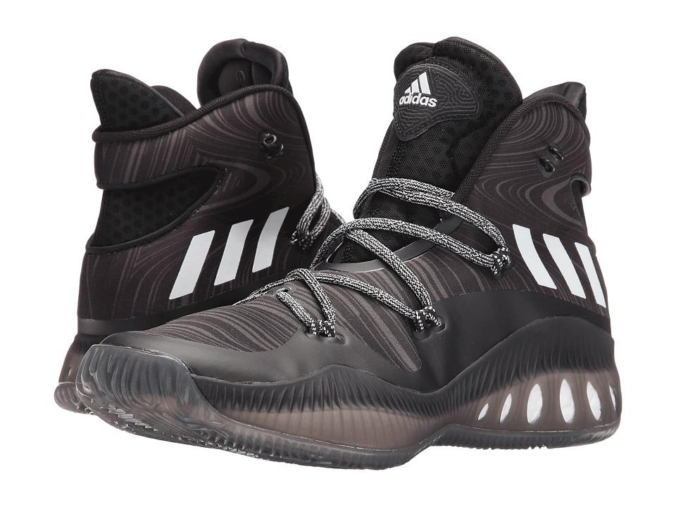 adidas - Crazy Explosive (Black/White/Utility Black) Men