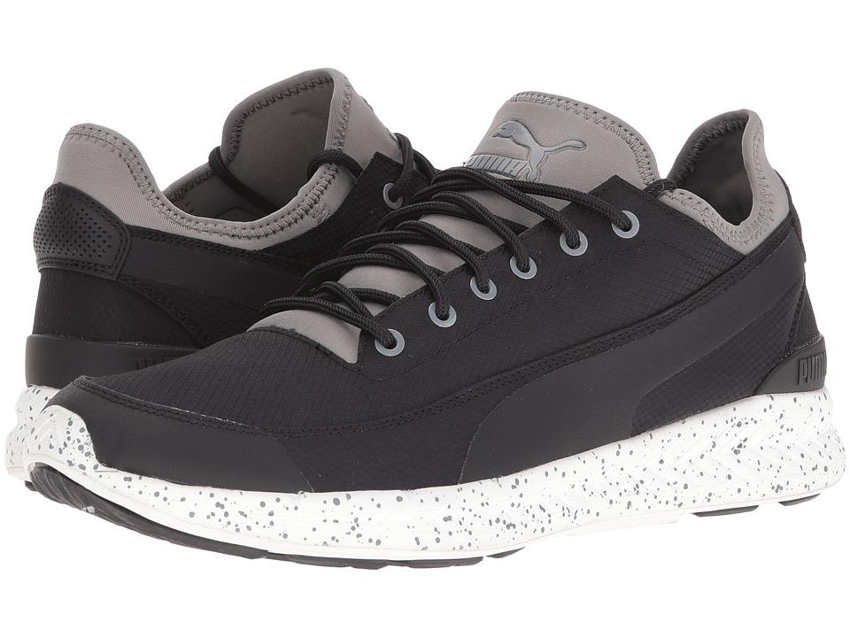 PUMA Ignite Sock Winter Tech (Puma Black/Steel Gray) Men