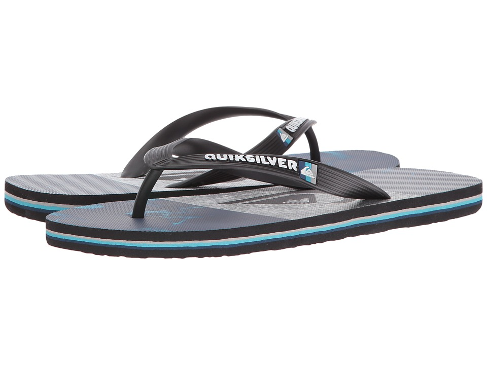 Quiksilver Molokai Tijuana (Black/Blue/Grey) Men