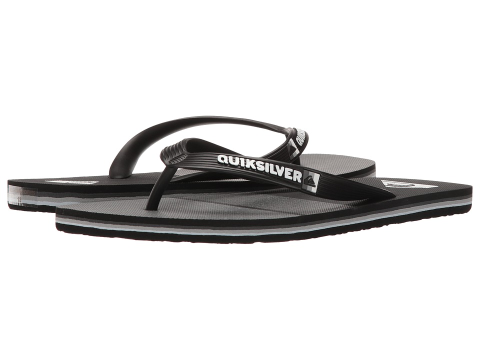 Quiksilver Molokai Everyday Blocked (Black/Grey/Black) Men