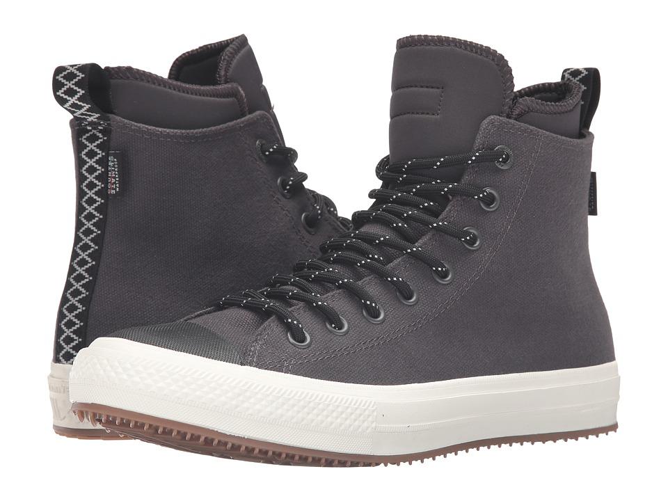 Converse Chuck Taylor All Star II Shield Canvas Sneaker Boot Hi (Almost Black/Black/Egret) Men