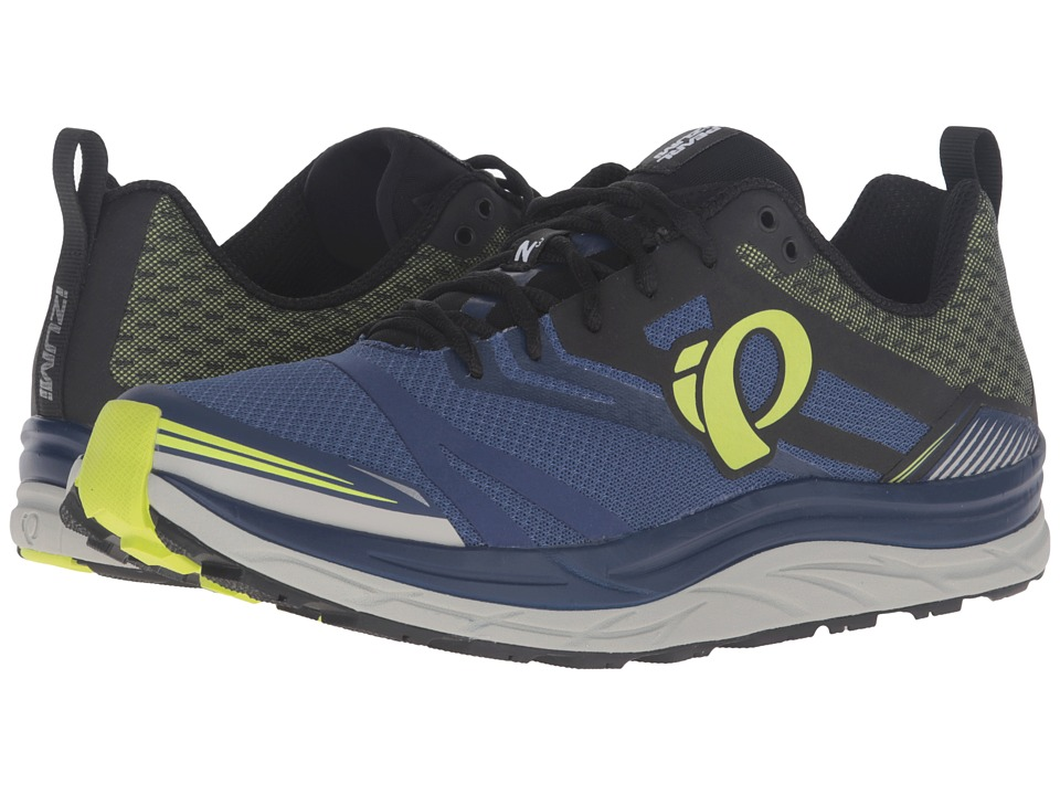 Pearl Izumi - EM Trail N 3 (Blue Depths/Lime Punch) Mens Running Shoes