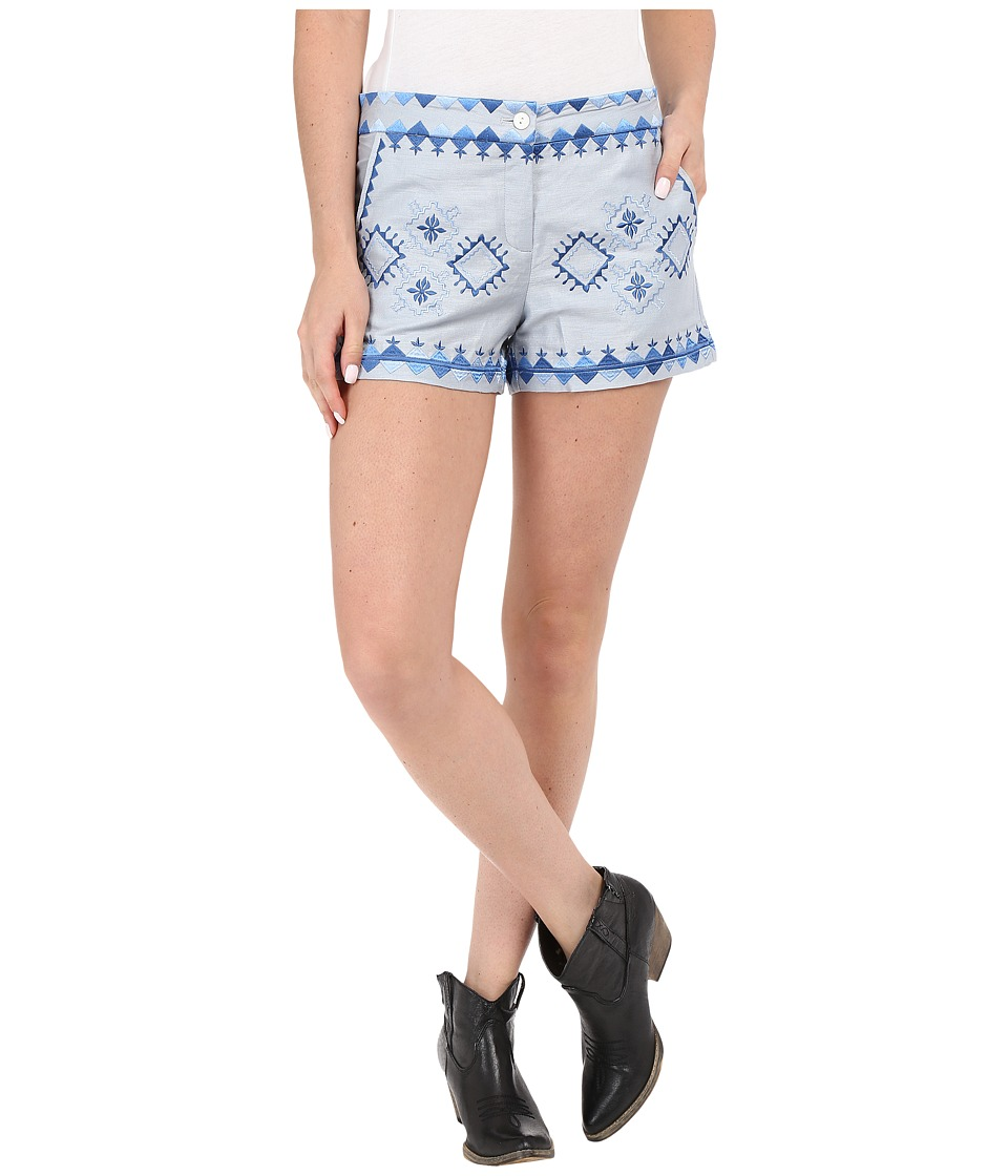 Union of Angels Marlee Shorts Blue Womens Shorts