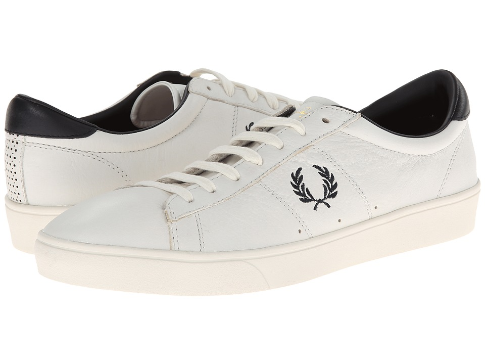 Fred Perry Spencer Leather (Porcelain/Navy 1) Men