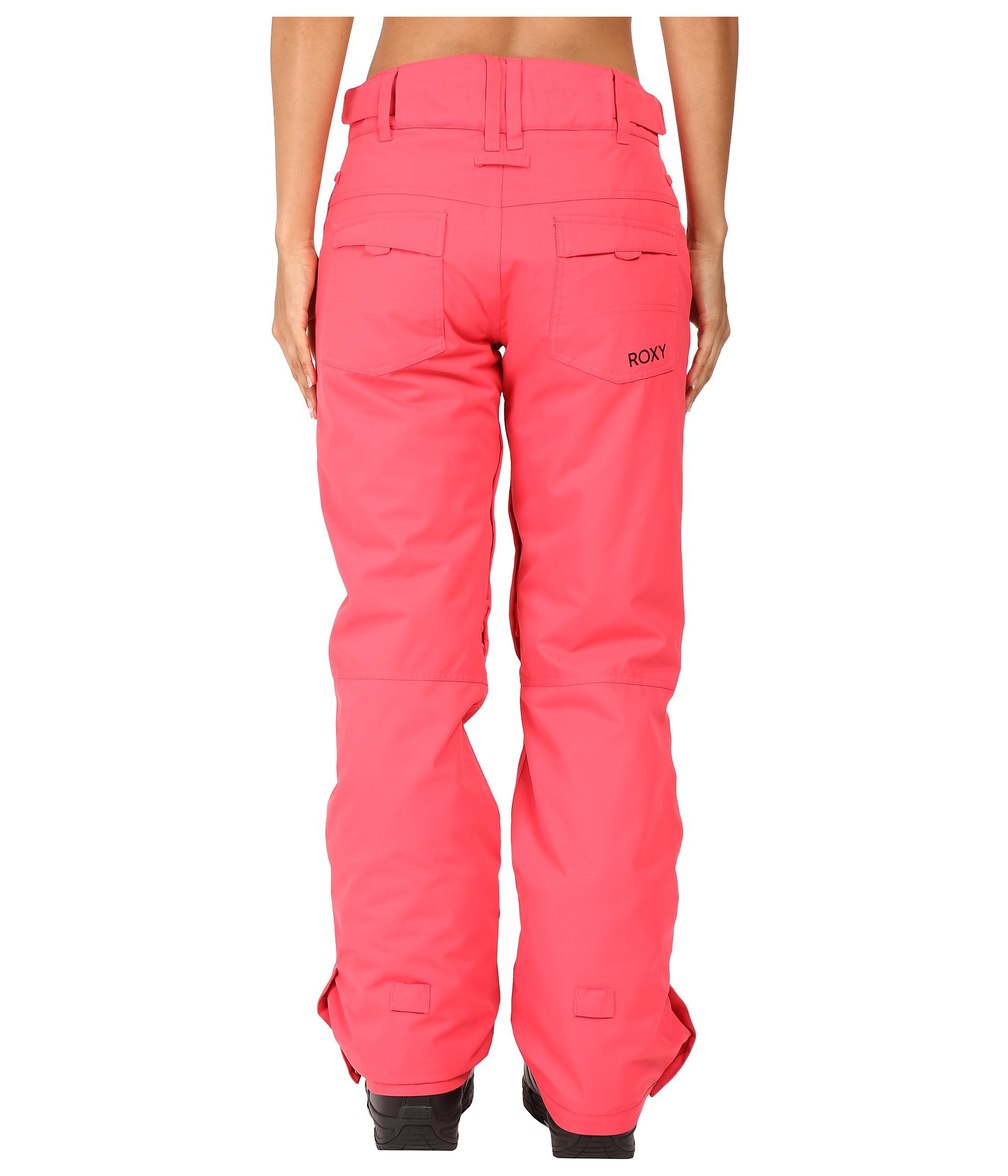 roxy backyard pant paradise pink zappos com free