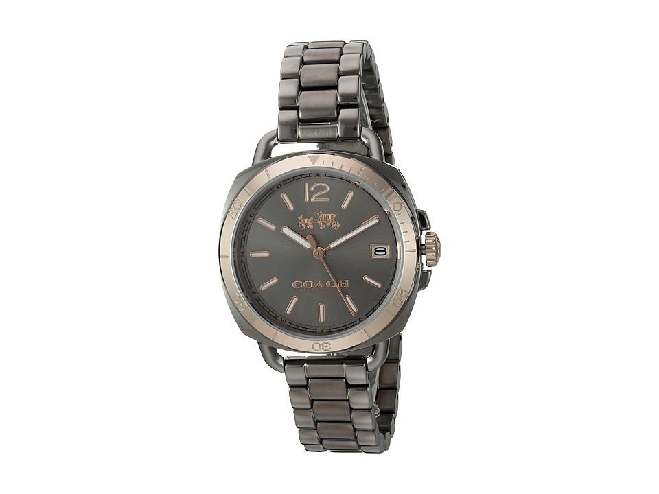 COACH - Tatum 34mm Bracelet (Grey) Watches