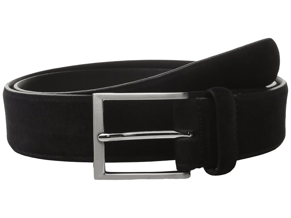 To Boot New York Belt (Black Italian Suede) Men