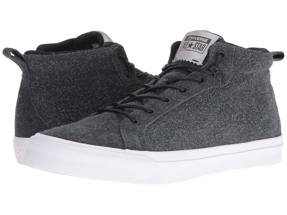 Converse All Star Wooly Suede Fulton Mid (Black/Black/White) Men