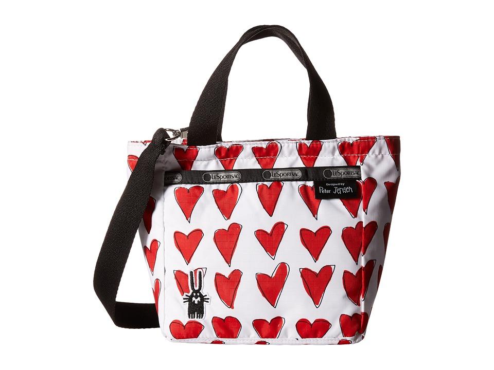 LeSportsac - Mini Picture Crossbody Tote (Richard) Tote Handbags