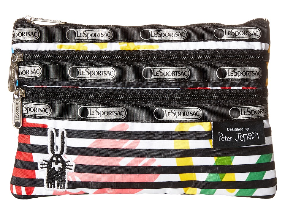 LeSportsac - 3 Zip Cosmetic Case (Jeffrey) Cosmetic Case