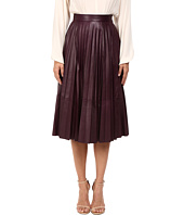 Prabal Gurung - Pleated Leather Skirt