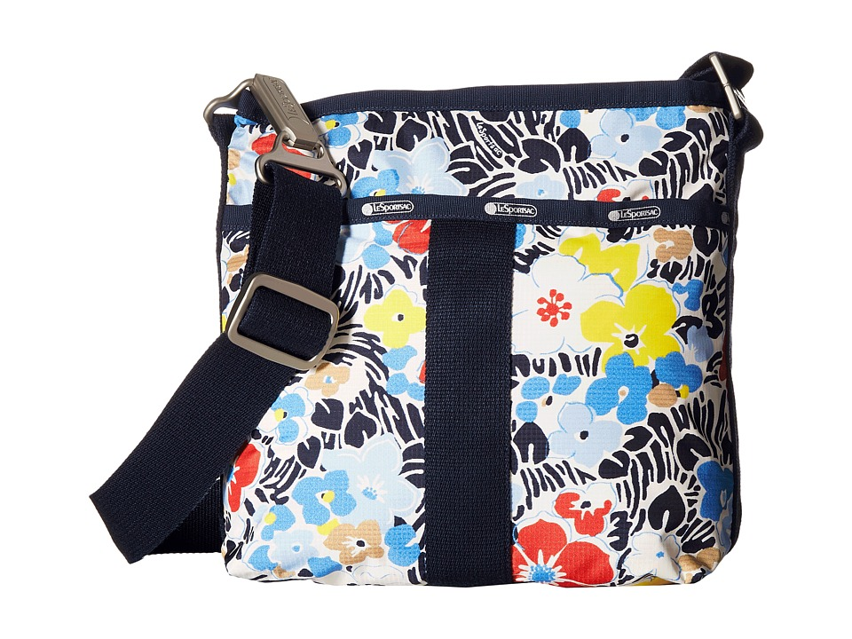 LeSportsac - Essential Crossbody (Ocean Blooms Navy) Cross Body Handbags