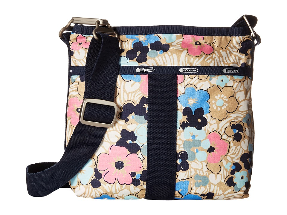 LeSportsac - Essential Crossbody (Ocean Blooms) Cross Body Handbags