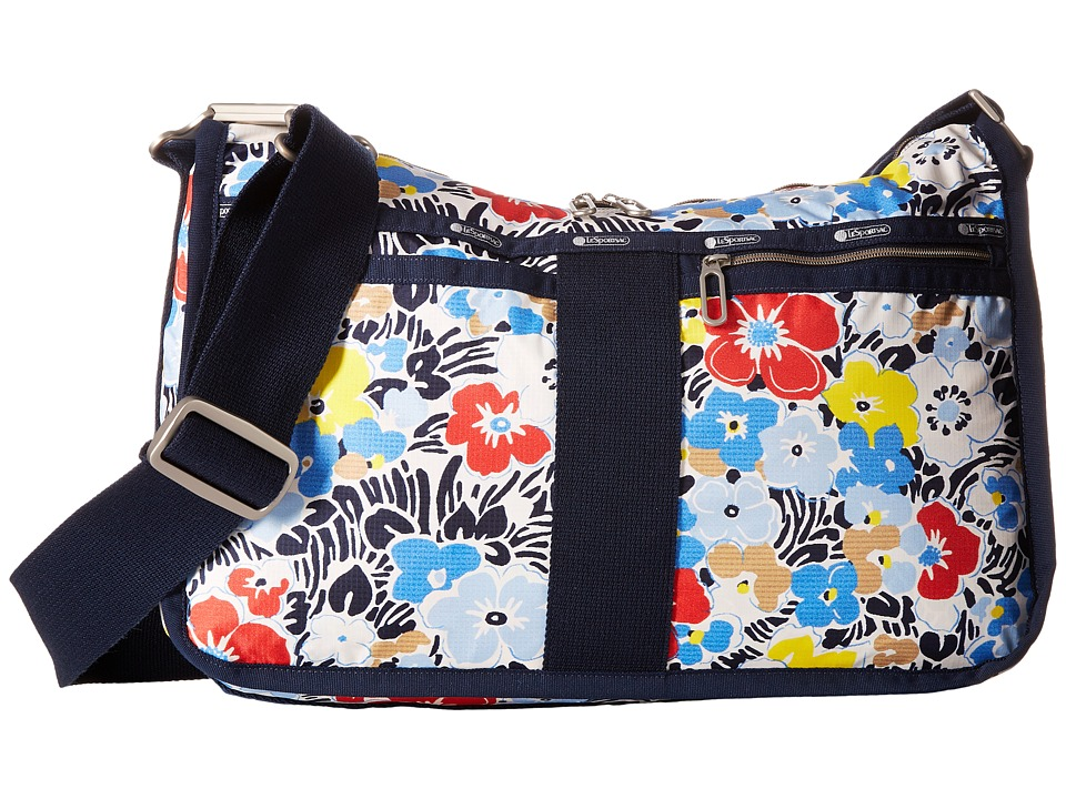 LeSportsac - Everyday Bag (Ocean Blooms Navy) Handbags