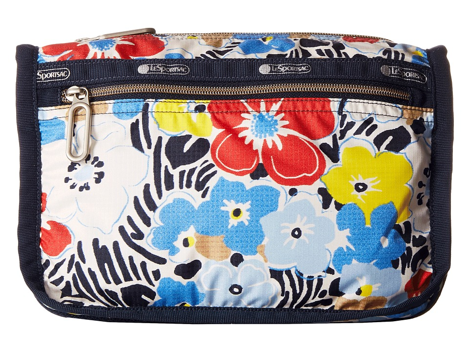 LeSportsac - Everyday Cosmetic Case (Ocean Blooms Navy) Cosmetic Case