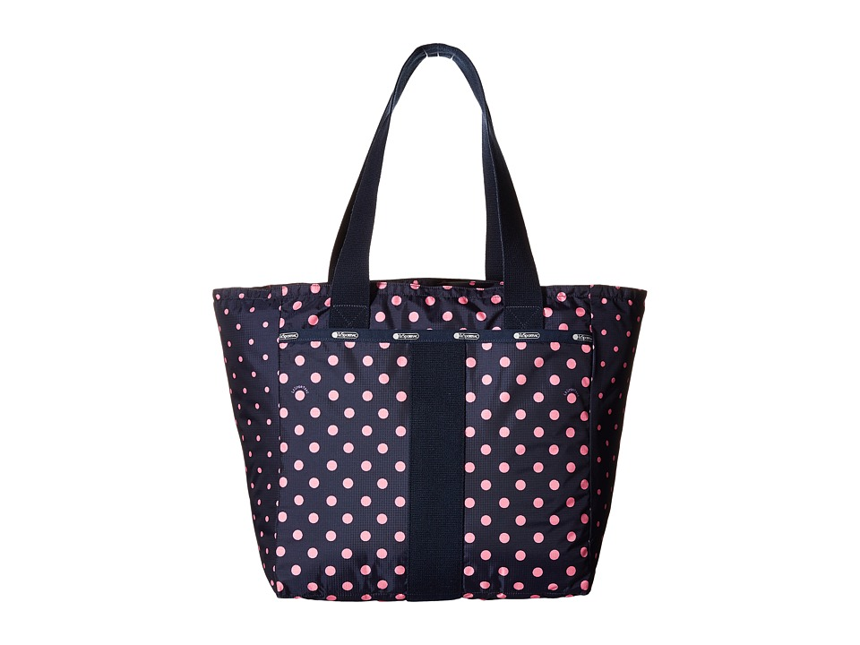 LeSportsac - Everyday Tote (Sun Multi Pink) Tote Handbags