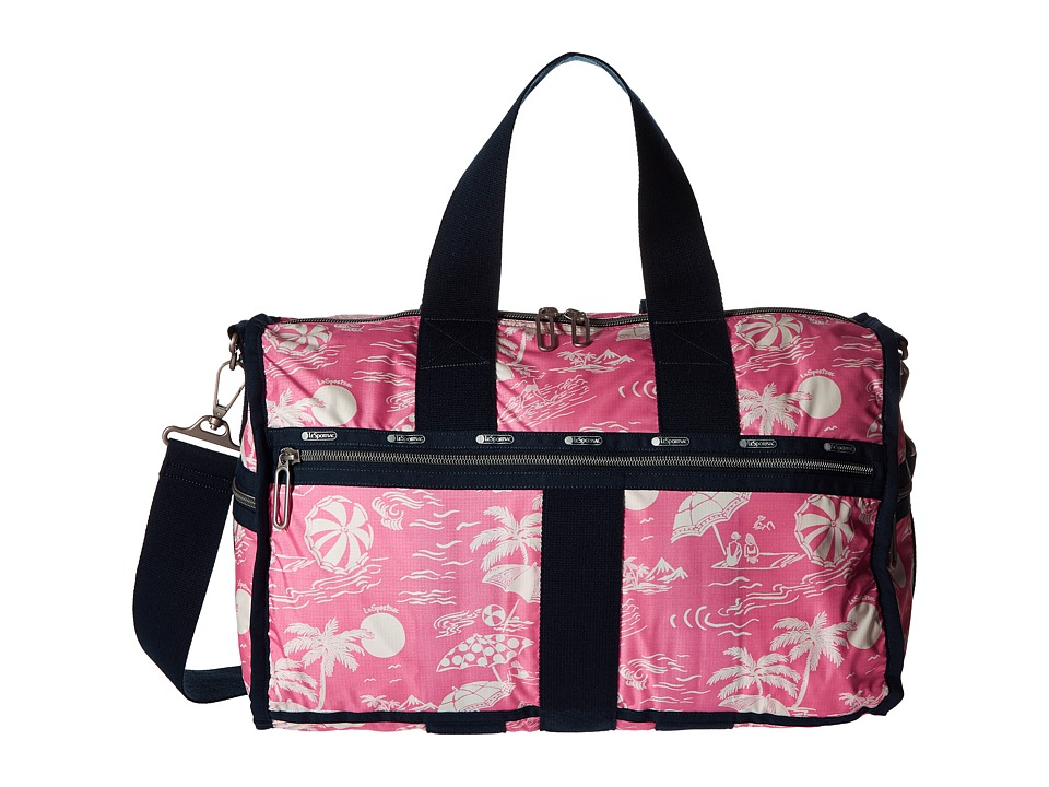 LeSportsac Luggage - Weekender (Hawaiian Getaway Pink) Weekender/Overnight Luggage