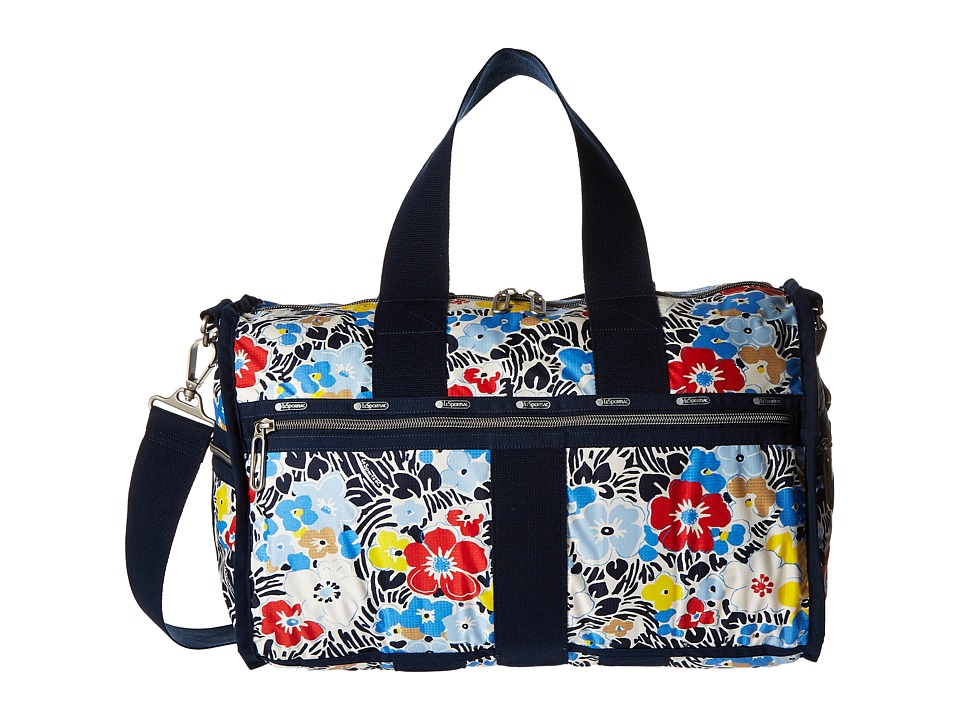 LeSportsac Luggage - Weekender (Ocean Blooms Navy) Weekender/Overnight Luggage