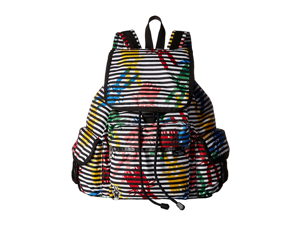 LeSportsac - Voyager Backpack (Jeffrey) Backpack Bags