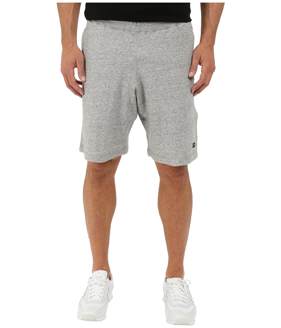 HUF Cadet Fleece Shorts Grey Heather Mens Shorts