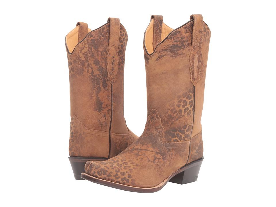 Old West Boots 18009 (Leopard Print) Cowboy Boots