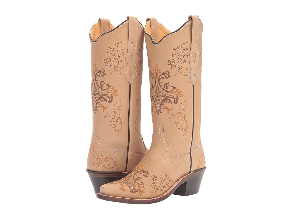 Old West Boots LF1588 (Vintage Cream) Cowboy Boots