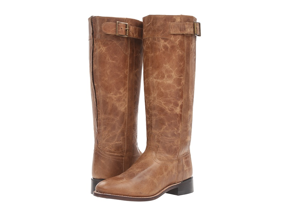 Old West Boots LB1601 (Tan Fry) Cowboy Boots